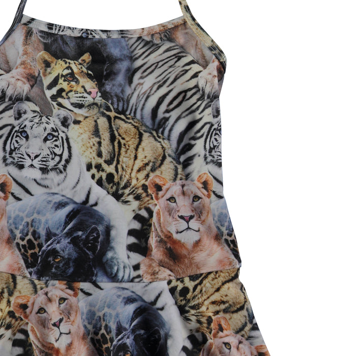 Molo Wild Cats Skirted Swimsuit