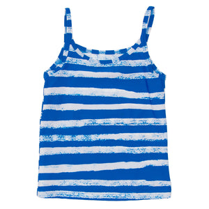 Noé & Zoë Striped Swim Top