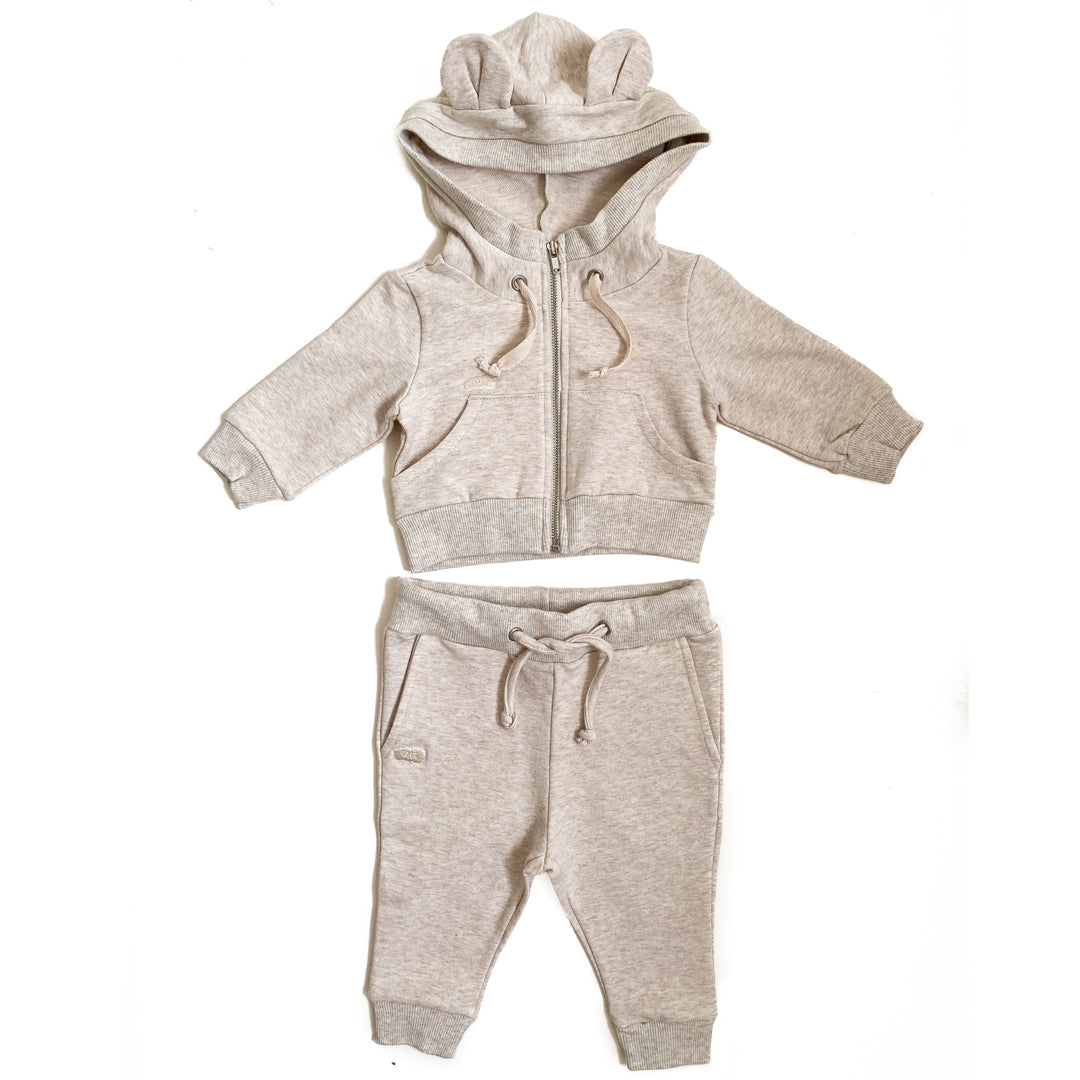 Talc Bear Ears Sweatsuit