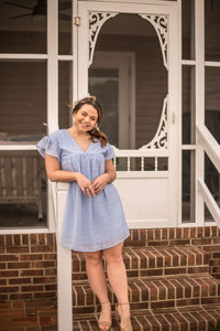 Meet Me At The Shore Periwinkle Dress