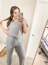 Load image into Gallery viewer, Cozy Goals Jumpsuit Lounge