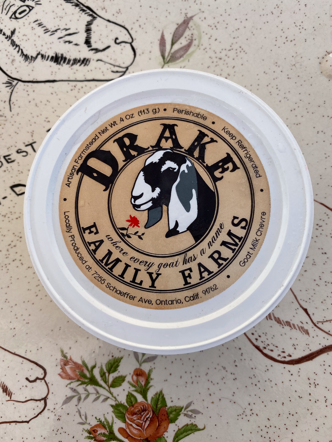 Goat Cheese from Drake Family Farms