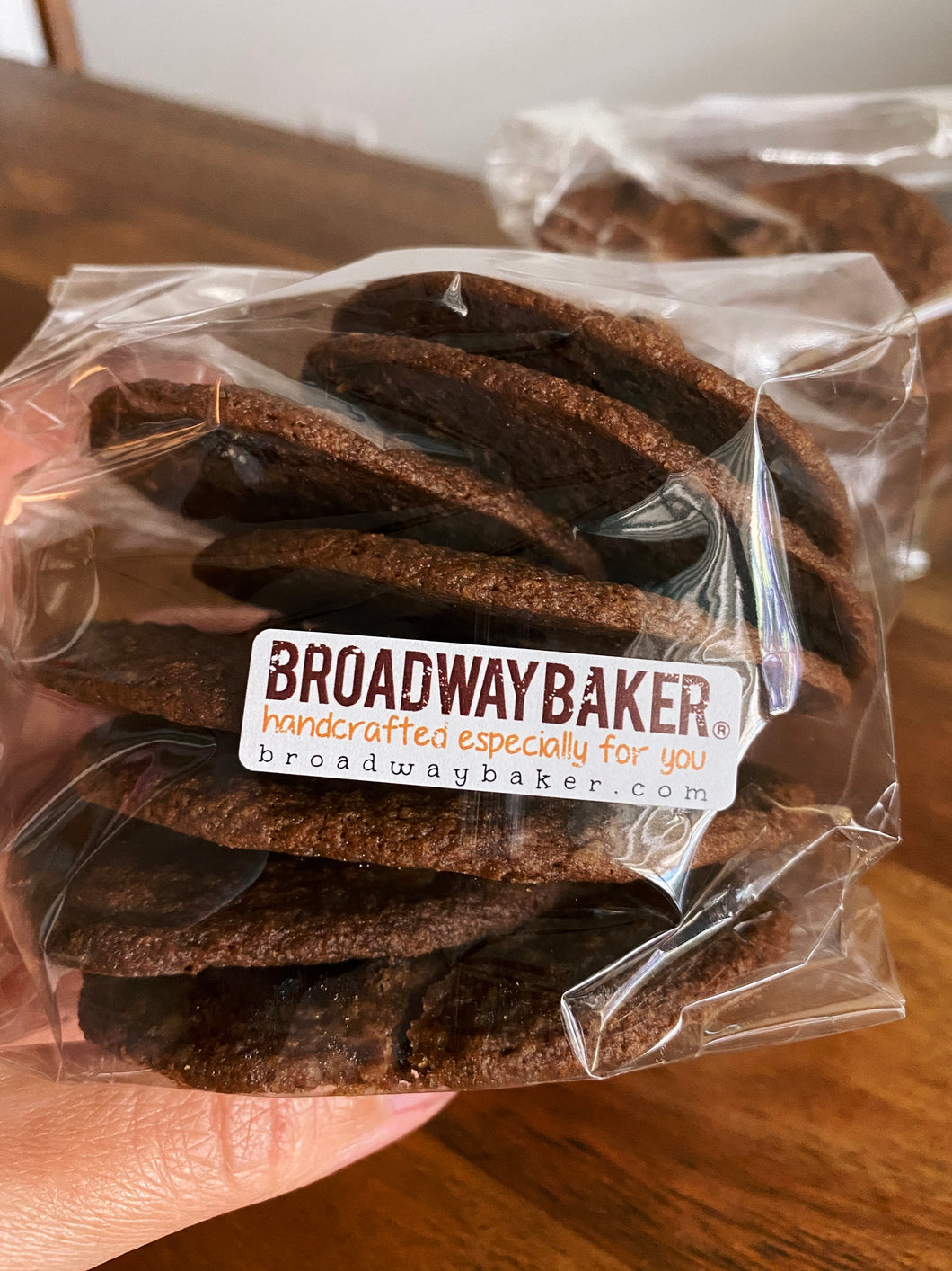 Thin & Crispy Classic Chocolate Chip Cookies by Broadway Baker