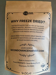 Freeze Dried Grapes, Pluots & Apples by Second Chance Harvest