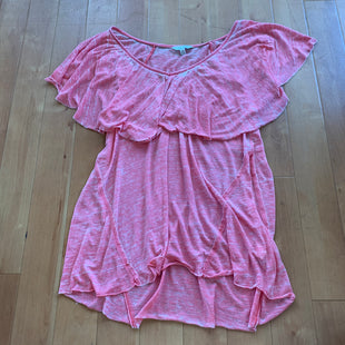 Primary Photo - BRAND: LUCKY BRAND STYLE: TOP SHORT SLEEVE COLOR: CORAL SIZE: M SKU: 178-178102-39068