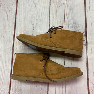 Primary Photo - BRAND: ATMOSPHERE STYLE: BOOTS ANKLE COLOR: TAN SIZE: 7 OTHER INFO: TIES SKU: 257-257189-289