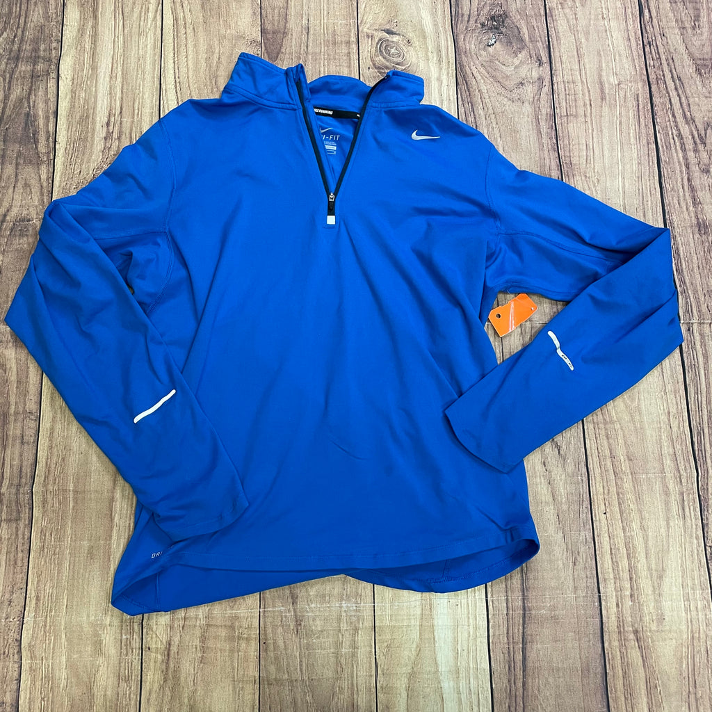 Athletic Jacket By Nike  Size: M