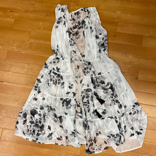 Primary Photo - BRAND: RACHEL HOLLISSTYLE: SHEER FLORAL COVERCOLOR: FLORAL SIZE: S OTHER INFO: RACHEL HOLLIS-SLEEVELESS/SHEER0-WHITE/BLACK/TAUPE SKU: 257-25786-4959