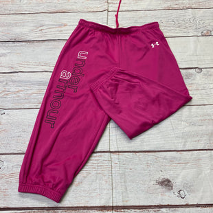 Primary Photo - BRAND: UNDER ARMOUR STYLE: ATHLETIC CAPRIS COLOR: PINK SIZE: XS SKU: 257-25797-276