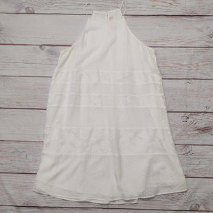 Primary Photo - BRAND: LOFT STYLE: DRESS LONG SLEEVELESS COLOR: WHITE SIZE: L SKU: 257-257100-1981