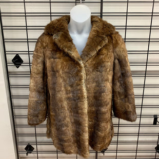 Primary Photo - BRAND: N/ASTYLE: COAT SHORT COLOR: BROWN SIZE: S OTHER INFO: GENUINE FUR MINKSKU: 178-178166-5199