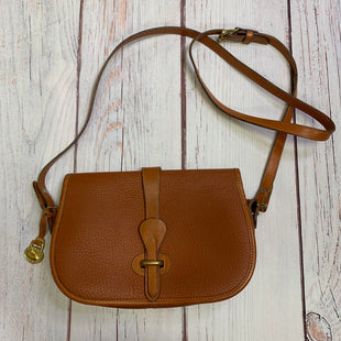 Primary Photo - BRAND: DOONEY AND BOURKE STYLE: HANDBAG DESIGNER COLOR: CAMEL SIZE: SMALL SKU: 257-257100-1044