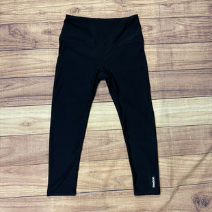 Primary Photo - BRAND: REEBOK STYLE: ATHLETIC CAPRIS COLOR: BLACK SIZE: M SKU: 257-25786-5293