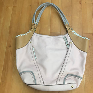 Primary Photo - BRAND: ORYANY STYLE: HANDBAG DESIGNER COLOR: LIGHT PINK SIZE: LARGE OTHER INFO: GREY/TAN/WHITE SKU: 257-25786-4997