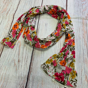 Primary Photo - BRAND: VERA BRADLEY STYLE: SCARF WINTER COLOR: FLORAL OTHER INFO: GREY/PINK/ORANGE/GREEN/BROWN SKU: 257-25774-14115
