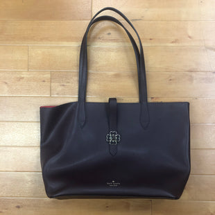 Primary Photo - BRAND: KATE SPADE STYLE: HANDBAG DESIGNER COLOR: PLUM SIZE: MEDIUM OTHER INFO: KACI TOTE- AS IS SKU: 257-257179-458