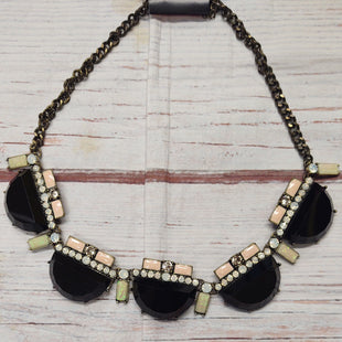 Primary Photo - BRAND:    CLOTHES MENTOR STYLE: NECKLACE COLOR: BLACK OTHER INFO: BAULBEAR - BLACK/LITTLE PINK&WHT STONES SKU: 257-257100-1853