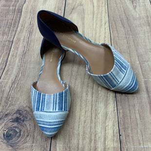 Primary Photo - BRAND: TOMMY HILFIGER STYLE: SHOES FLATS COLOR: BLUE WHITE SIZE: 6.5 SKU: 257-257100-891