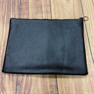 Primary Photo - BRAND: MUDPIE STYLE: CLUTCH COLOR: BLACK OTHER INFO: BLACK CLUTCH GOLD ZIPPER SKU: 257-257195-29