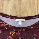 Photo #1 - BRAND: WESTPORT <BR>STYLE: TOP LONG SLEEVE <BR>COLOR: BURGUNDY <BR>SIZE: 1X <BR>SKU: 257-25748-7303