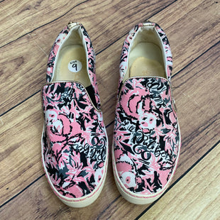 Primary Photo - BRAND: LILLY PULITZER STYLE: SHOES FLATS COLOR: PINKBLACK SIZE: 9 OTHER INFO: JULIE SNEAKER - SIZE APPROX SKU: 257-25750-439