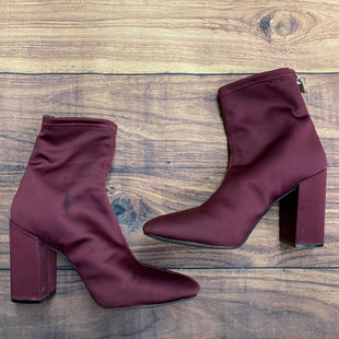 Primary Photo - BRAND: JESSICA SIMPSON STYLE: BOOTS ANKLE COLOR: BURGUNDY SIZE: 8 SKU: 257-25748-6039