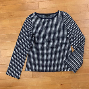 Primary Photo - BRAND: ANN TAYLOR STYLE: TOP LONG SLEEVE COLOR: BLUE WHITE SIZE: M SKU: 257-25748-5433