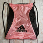 Primary Photo - BRAND: ADIDAS <BR>STYLE: BACKPACK <BR>COLOR: PINKBLACK <BR>SIZE: MEDIUM <BR>SKU: 257-25748-6798