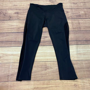 Primary Photo - BRAND:    CLOTHES MENTOR STYLE: ATHLETIC CAPRIS COLOR: BLACK SIZE: M OTHER INFO: ONZIE - SHEER SIDES SKU: 257-257183-1732