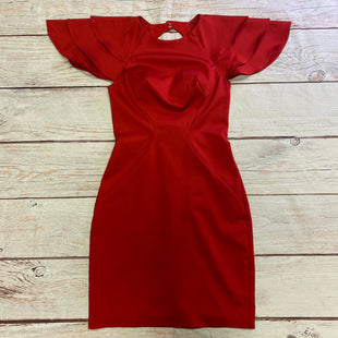 Primary Photo - BRAND:    CLOTHES MENTOR STYLE: DRESS SHORT SHORT SLEEVE COLOR: RED SIZE: XS OTHER INFO: MACDUGGAL - SKU: 257-257100-2019