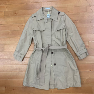 Primary Photo - BRAND: GAP STYLE: COAT SHORT COLOR: TAUPE SIZE: XS OTHER INFO: TRENCH COAT SKU: 257-257180-2159