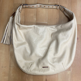 Primary Photo - BRAND: REBECCA MINKOFF STYLE: HANDBAG DESIGNER COLOR: TAN SIZE: LARGE OTHER INFO: SLIGHT STAINING FRON SKU: 178-178168-4331