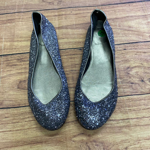 Primary Photo - BRAND: J CREW STYLE: SHOES FLATS COLOR: SILVER SIZE: 8.5 OTHER INFO: SPARKLY SKU: 257-257194-2003