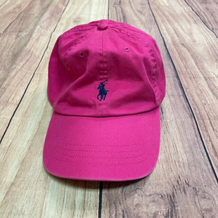 Hat By Polo Ralph Lauren - BRAND: POLO RALPH LAUREN STYLE: HAT COLOR: HOT PINK OTHER INFO: ADJUSTABLE SKU: 257-25748-6197