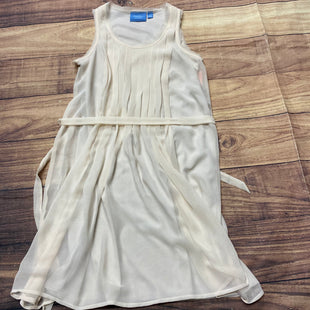 Primary Photo - BRAND: SIMPLY VERA STYLE: DRESS SHORT SLEEVELESS COLOR: CREAM SIZE: S SKU: 257-25797-35