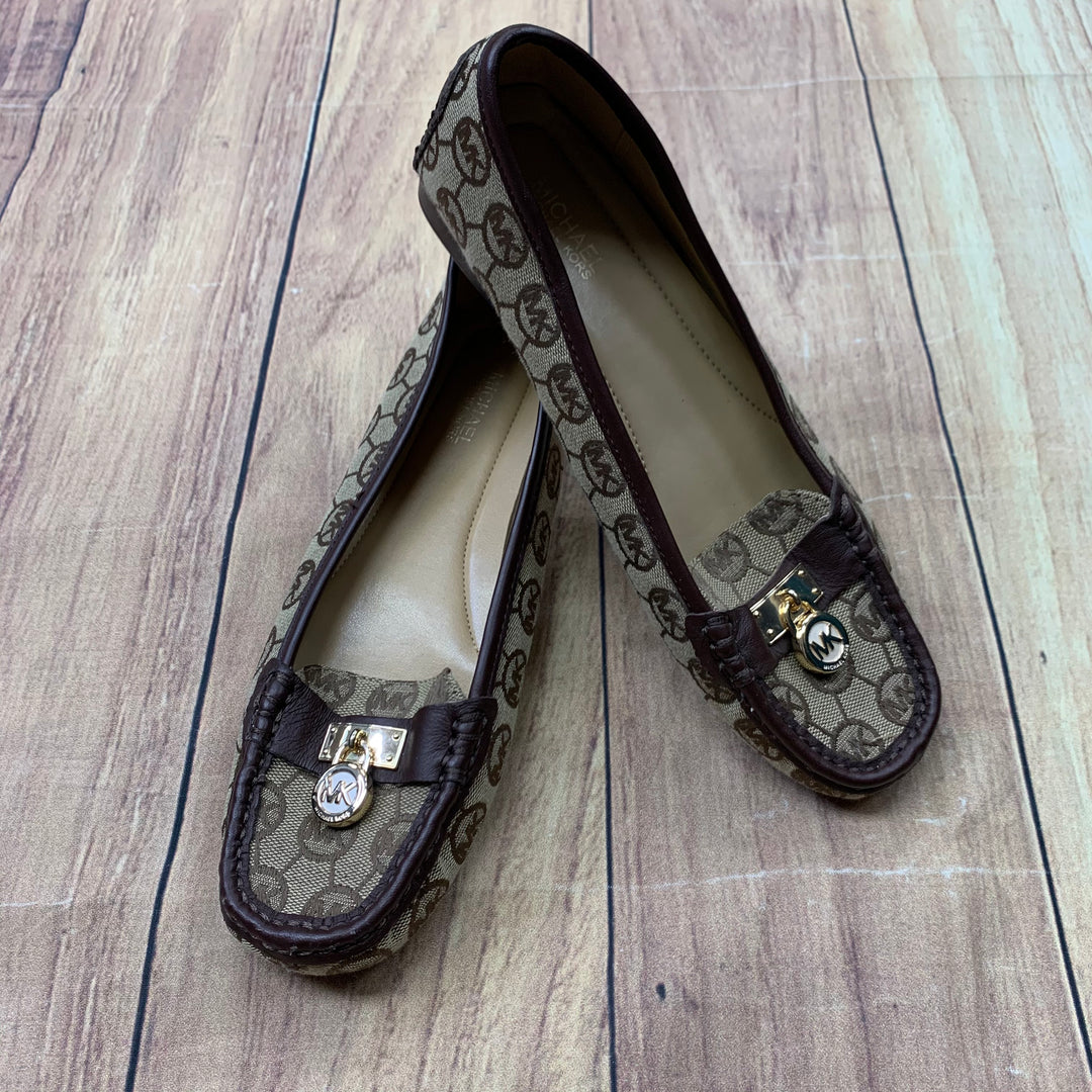 Primary Photo - BRAND: MICHAEL BY MICHAEL KORS <BR>STYLE: SHOES FLATS <BR>COLOR: MONOGRAM <BR>SIZE: 7.5 <BR>SKU: 257-25774-16199