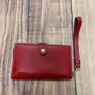 Primary Photo - BRAND: COACH STYLE: WALLET COLOR: RED SIZE: MEDIUM SKU: 257-25748-7296