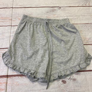 Primary Photo - BRAND: SHEIN STYLE: SHORTS COLOR: GREY SIZE: S OTHER INFO: RUFFLES DRAWSTRING SKU: 257-25750-1063