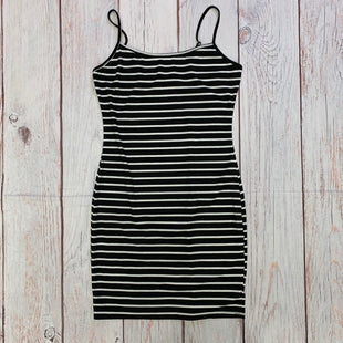 Primary Photo - BRAND: SHEIN STYLE: DRESS SHORT SLEEVELESS COLOR: BLACK WHITE SIZE: M OTHER INFO: STRIPED SKU: 257-257100-1676