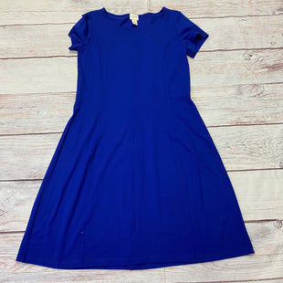 Primary Photo - BRAND: CHICOS STYLE: DRESS SHORT SHORT SLEEVE COLOR: ROYAL BLUE SIZE: S SKU: 257-257100-1817