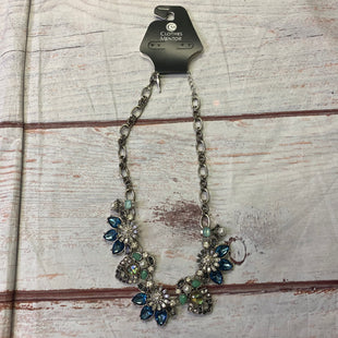 Primary Photo - BRAND:    CLOTHES MENTOR STYLE: NECKLACE COLOR: BLUE OTHER INFO: BLUE GREEN CLEAR CRYSTALS SKU: 257-25750-1032