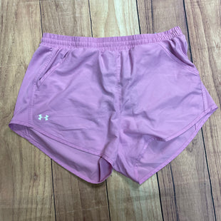 Athletic Shorts By Under Armour Size: S - BRAND: UNDER ARMOURSTYLE: ATHLETIC SHORTS COLOR: PINK SIZE: S SKU: 257-25750-355