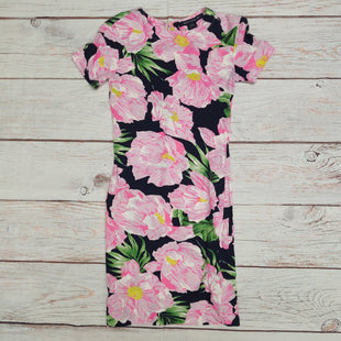 Primary Photo - BRAND: FRENCH CONNECTION STYLE: DRESS SHORT SHORT SLEEVE COLOR: FLORAL SIZE: XS OTHER INFO: PINK OVER NAVY SKU: 257-25797-454