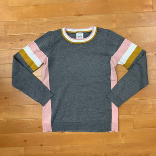 Primary Photo - BRAND: HIPPIE ROSE STYLE: SWEATER LIGHTWEIGHT COLOR: GREY SIZE: S OTHER INFO: PINK, WHITE, MUSTARD SKU: 257-25748-4400