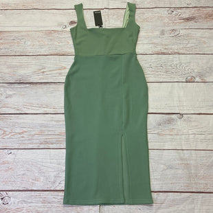 Primary Photo - BRAND:    CLOTHES MENTOR STYLE: DRESS SHORT SLEEVELESS COLOR: GREEN SIZE: M OTHER INFO: NASTY GAL - NEW! SKU: 257-257194-2190