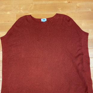 Primary Photo - BRAND: OLD NAVY STYLE: SWEATER SHORT SLEEVE COLOR: RUST SIZE: XS SKU: 178-178160-17437