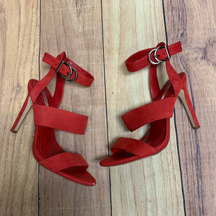 Primary Photo - BRAND: BCBG STYLE: SHOES HIGH HEEL COLOR: RED SIZE: 6 OTHER INFO: RED STRAPS SKU: 257-257103-217