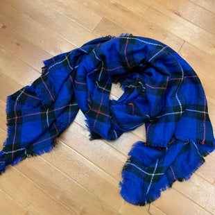 Primary Photo - BRAND:    PRINCE AND FOXSTYLE: SCARF WINTER COLOR: PLAID OTHER INFO: PRINCE AND FOX - BLUE/BLACK/WHITE/RED SKU: 257-257180-1788