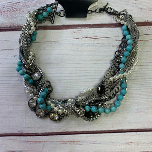 Primary Photo - BRAND:    CHLOE AND ISOBELSTYLE: NECKLACE COLOR: TURQUOISE OTHER INFO: CHLOE AND ISOBEL - MULTI-CHAIN SILVER SKU: 257-25797-1078