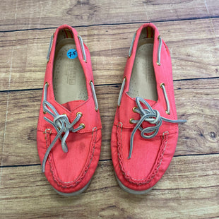 Primary Photo - BRAND: SPERRY STYLE: SHOES FLATS COLOR: ORANGEPINK SIZE: 7.5 SKU: 257-25748-5163